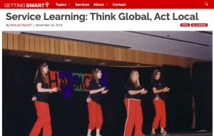 Getting Smart service learning