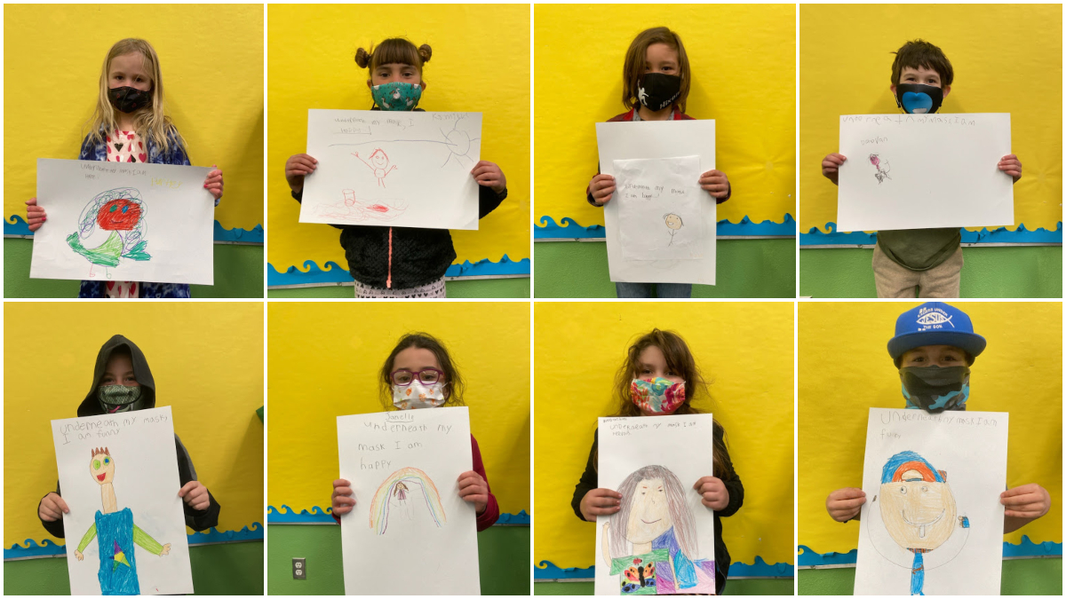 iLEAD Agua Dulce Learners Share How They Feel Underneath the Masks