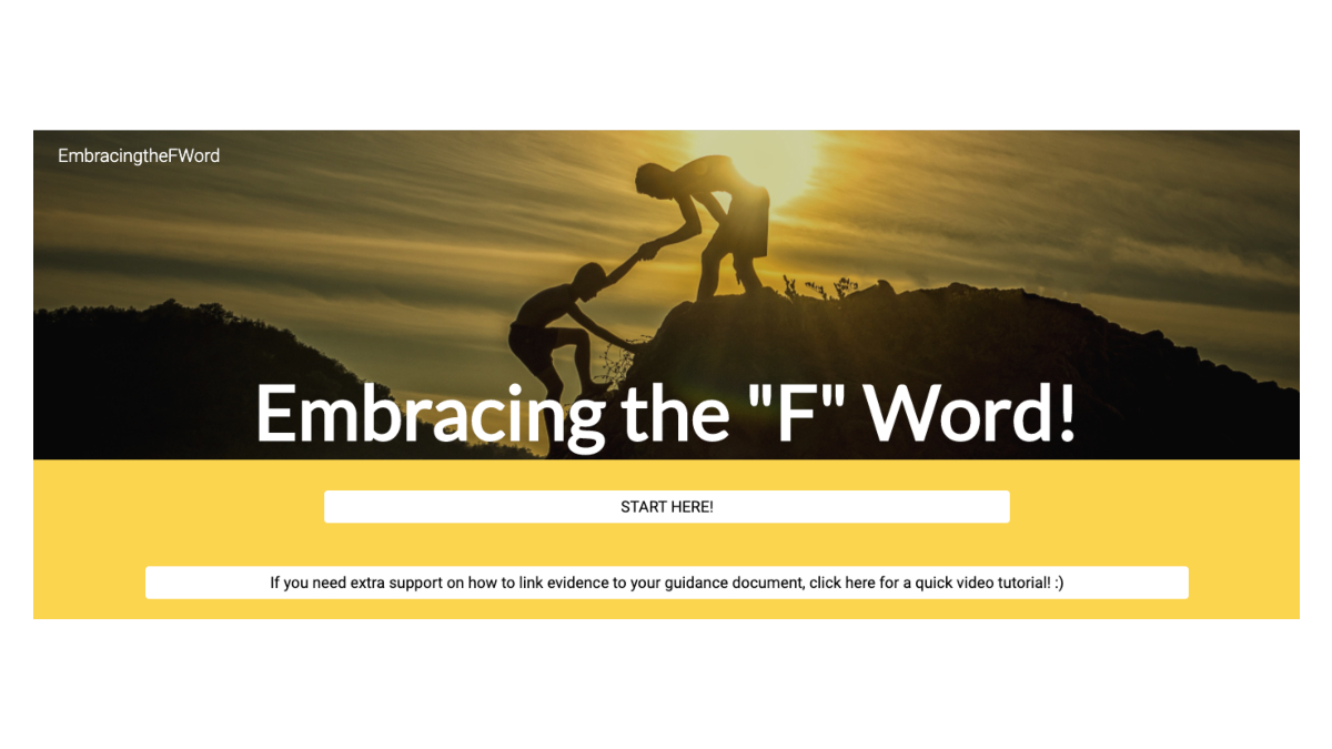 website embracing the f word