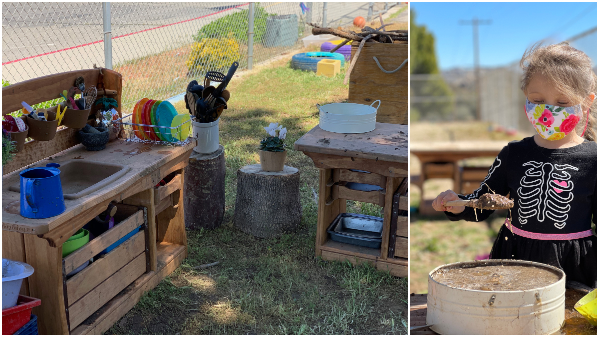 Mud Kitchens: The Intersection of Play, Learning and Wellness